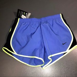 NWT Nike Running / swimming shorts Medium Girls